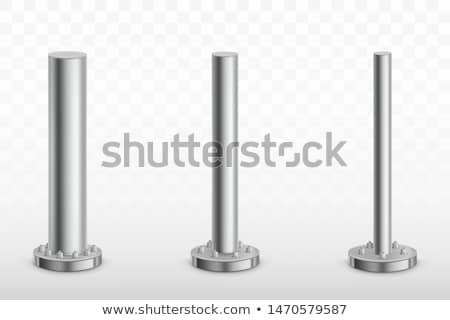 metal · isolado · branco · água · construção · fundo - foto stock © kitch