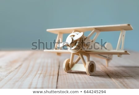 hout · speelgoed · onderwijs · Blauw · Rood · kid - stockfoto © Paha_L