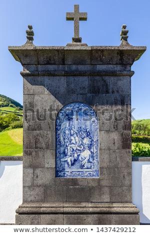 место паломничество архитектура часовня Lady мира Сток-фото © CaptureLight