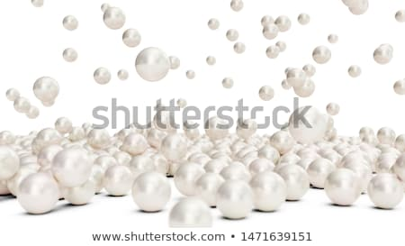 falling pearls Stock photo © kovacevic