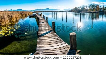 chiemsee lake stock photo © mahout