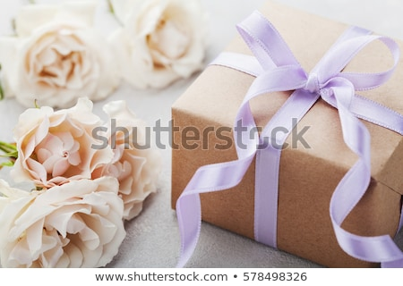 wedding gift and bouquet stock photo © c-foto