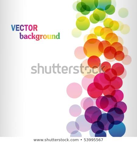 ingesteld · gekleurd · illustratie · ontwerp · frame - stockfoto © boroda