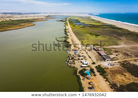 Sahil yol lima plaj Peru şehir Stok fotoğraf © Hofmeester