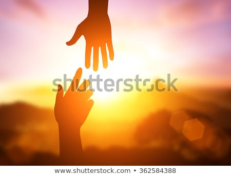 Stock photo: We are pleased to help you
