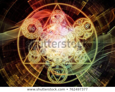 Stock photo: Numerology (magical knowledge).