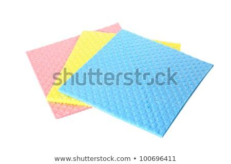 Three sponges isolated on white Stock photo © entazist