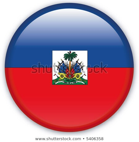Mappa bandiera pulsante Haiti vettore immagine Foto d'archivio © Istanbul2009