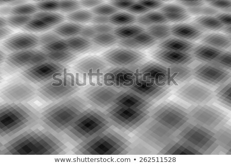 abstract pixel blob fluid background in gray Stock photo © Melvin07
