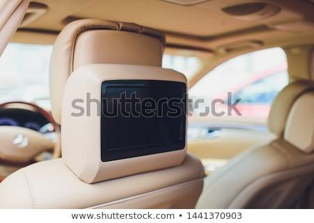 black dvd player with monitor Stock photo © ozaiachin