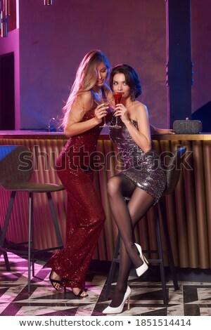 かなり · かわいい · ダンス · ナイトクラブ · 女性 · ファッション - ストックフォト © neonshot