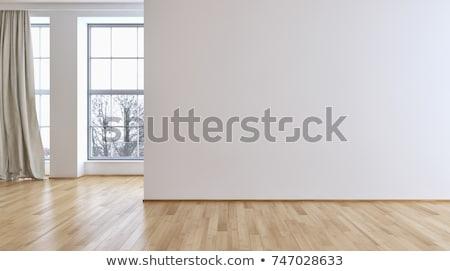 Fehér szoba lépcsősor üres Stock fotó © wavebreak_media