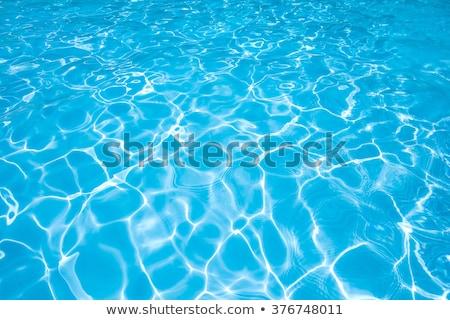 Wasseroberfläche Detail Vollbild abstrakten Wasser Meer Stock foto © prill