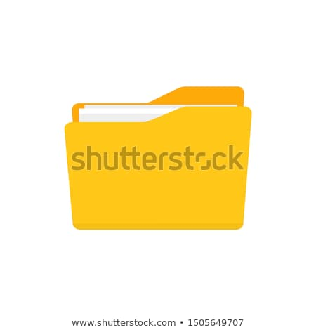 файла желтый вектора икона дизайна цифровой Сток-фото © rizwanali3d
