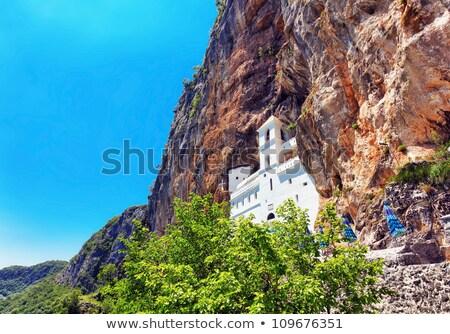 Montenegro vista monasterio mundo montana iglesia Foto stock © vlad_star