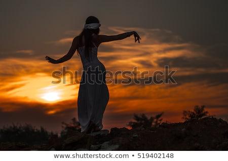 girl dances east dance stock photo © fanfo