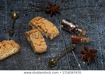 tea · kekszek · fehér · csésze · teáskanna · asztal - stock fotó © digifoodstock