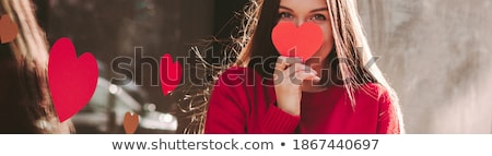 Smiling Girl Banner stock photo © FOTOYOU