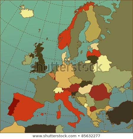 Atlantic and west Europe Stock photo © ixstudio