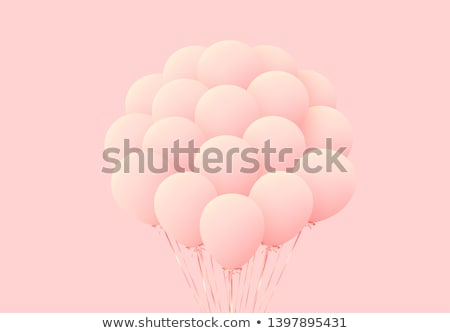 Group of pink balloons Stock photo © IS2