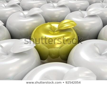 Gold apple unique Stock photo © unikpix