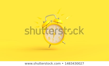 Alarm clock. 3D rendering illustration Stock photo © Nobilior