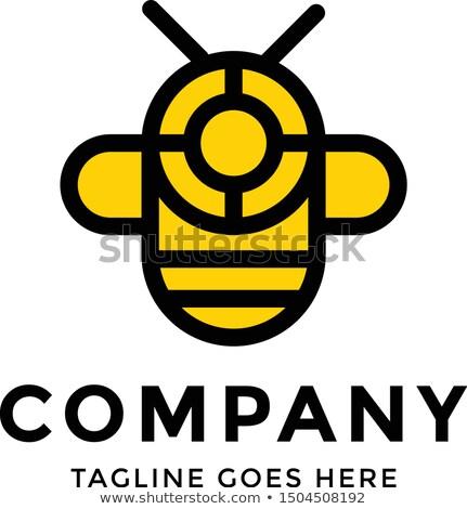 wasp stylised vector icon logo stock photo © blaskorizov