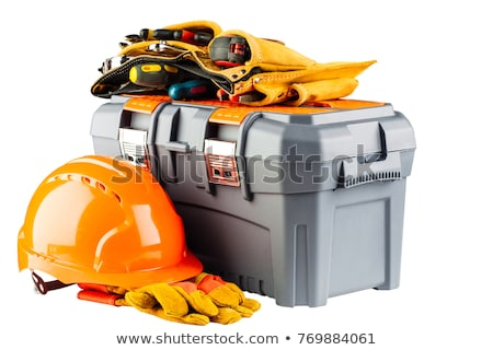 Geel · toolbox · shot - stockfoto © kayros