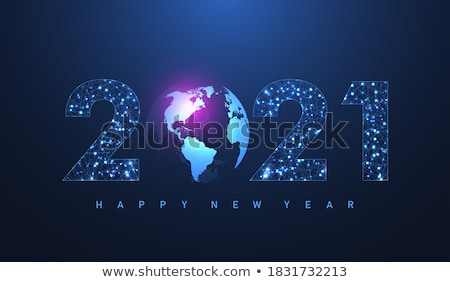 happy new year greetings from the world stock photo © daboost