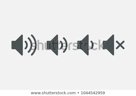 ウェブ スピーカー オーディオ ボリューム サウンド アイコン ストックフォト © blaskorizov
