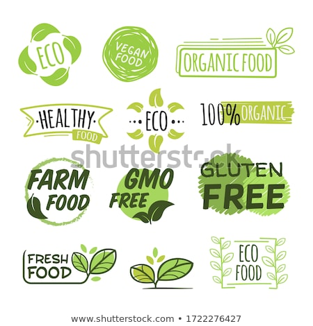 vegetable market vector natural eco healthy product isolated flat cartoon illustration stock photo © pikepicture