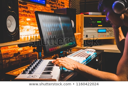 Compose a song Stock photo © eddows_arunothai