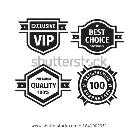 Color Promotional Sale Discount Ribbon Monochrome Vector Stock photo © pikepicture