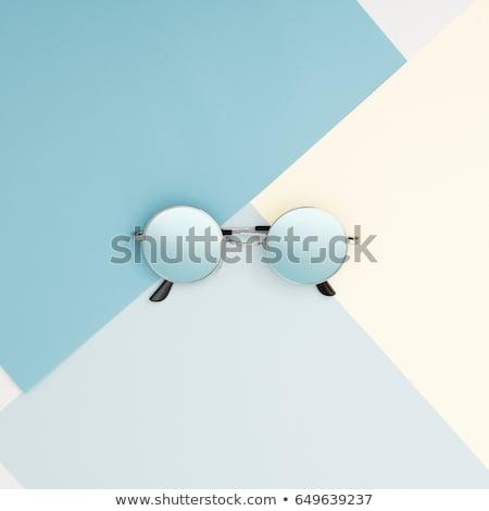 stijl · mode · fotografie · zonnebril - stockfoto © serdechny