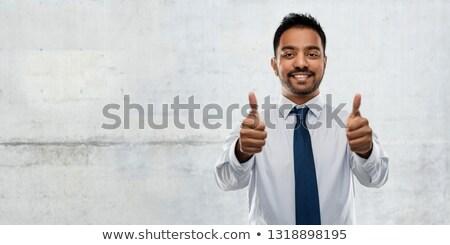 asian · entrepreneur · parler · téléphone · affaires - photo stock © dolgachov