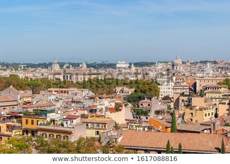 Roma panorama céu edifício luz viajar Foto stock © Zhukow