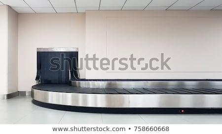 Bagaż dochodzić lotniska nikt kopia przestrzeń wynik Zdjęcia stock © dashapetrenko