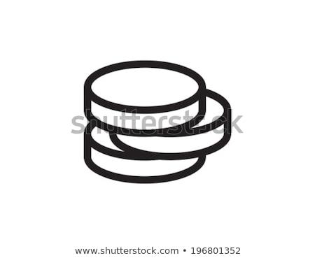 Pound sikke ikon vektör örnek Stok fotoğraf © pikepicture