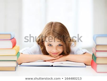 studia · klasie · szkoły · piśmie · dziewcząt - zdjęcia stock © photography33