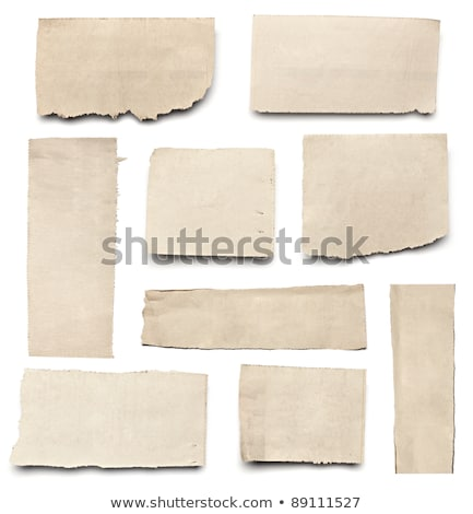 torn piece of old paper stock photo © givaga