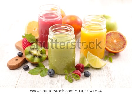 selection of fruit juices stock photo © photography33