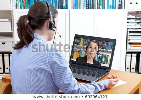 Recruiter having phone call Stock photo © photography33