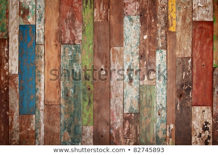 Grunge background of old boards yellow. Stock photo © borysshevchuk