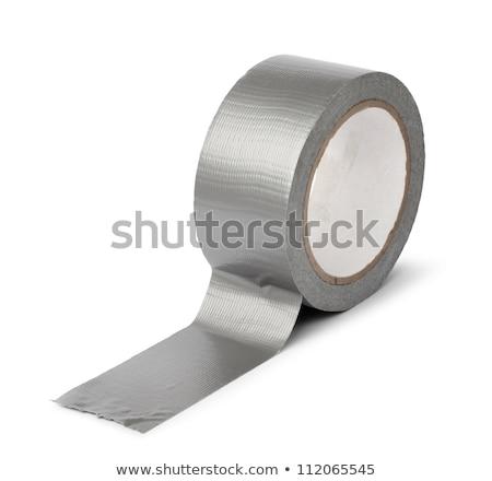 серебро · электрические · лента · катиться - Сток-фото © wavebreak_media