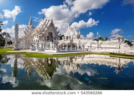 仏教 · 白 · 寺 · ダイナミック · 表示 · 建物 - ストックフォト © bbbar