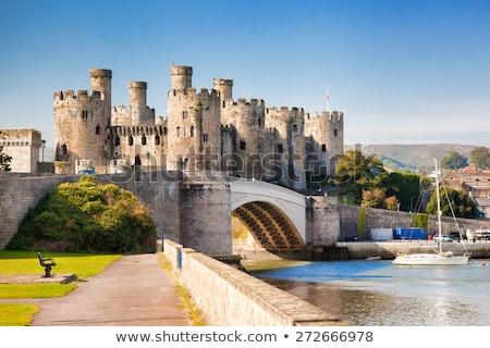 Conwy Castle  Stock photo © ollietaylorphotograp