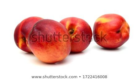 Kettő friss fa deszka édes diéta makró Stock fotó © raphotos