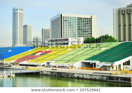 Singapore Floating Platform Stock photo © joyr