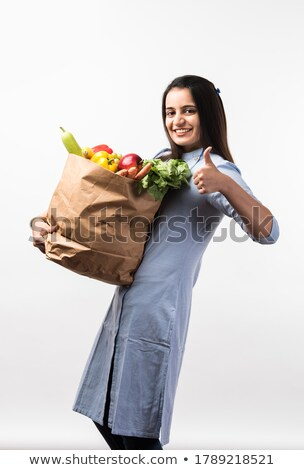 indian girl on a diet stock photo © giulio_fornasar