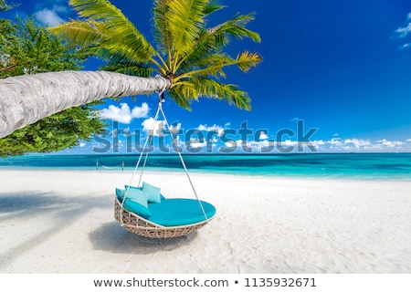 пляж Сейшельские острова острове небе воды пейзаж Сток-фото © kubais